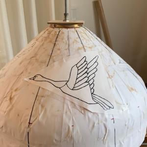 白い鳥のランプ(01)
