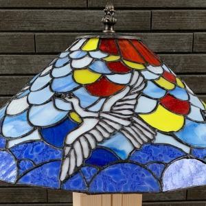 白い鳥のランプ(09)