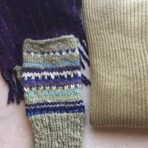 ヴィンテージのセーターをゲット