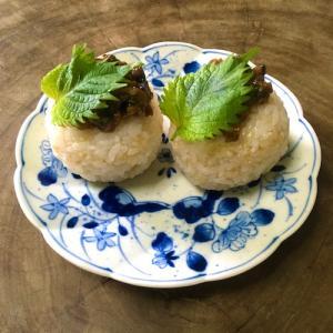 大葉の味噌炒め:山街のキッチンから#19
