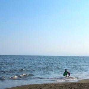 海へ(辻堂海岸)