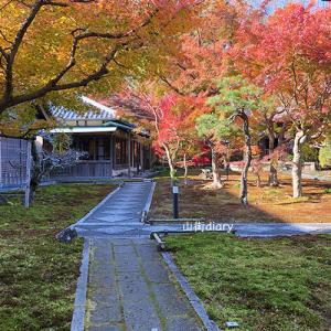 北鎌倉・長寿寺の紅葉と岩船地蔵堂