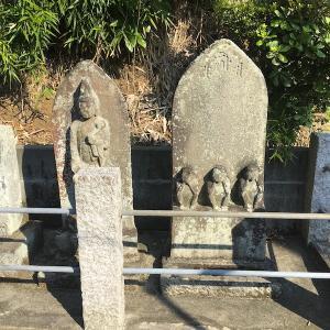 鎌倉市今泉・白山神社  三匹の小猿と秋の山野草