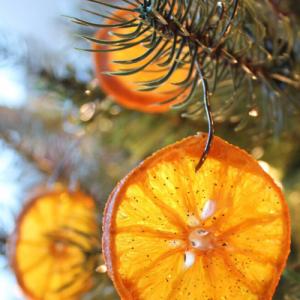オレンジのオーナメントの作り方!可愛くて爽やかなクリスマスの飾り付け