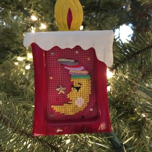 クリスマスの刺繍オーナメント!母が作ってくれる私の宝物の数々。