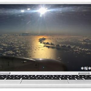 今日は空の日&機窓からの夕景☆彡