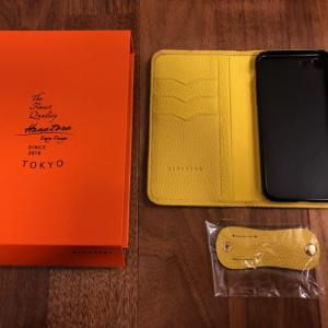 【 iphone7/8】スマホケースブランドは大人の本革HANATORAで決まり!