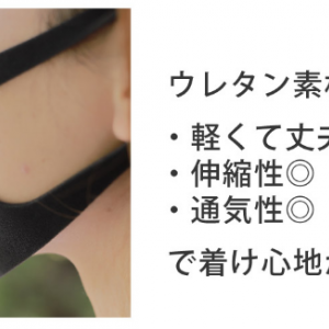 洗えるウレタン素材3Dマスク3枚入りが1人2個以上買える通販【Santasan本店】