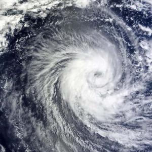 台風が来る~100年に1度の大雨量?~