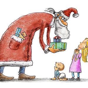 サンタがお家にやってくる♪大垣書店のサンタデリバリー
