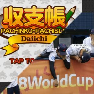 現在の収支とWBSC U18野球W杯日本代表