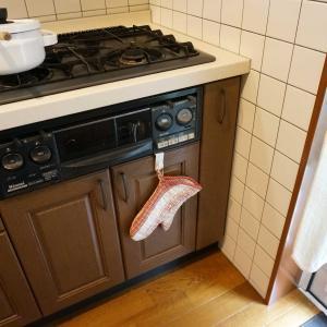 キッチン・スパイス、ツールの収納。