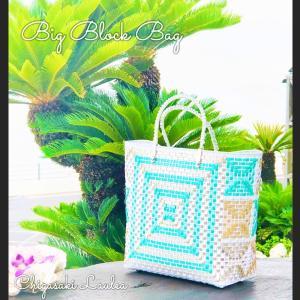 Big Block Bag ♦ビッグブロックバッグ♦