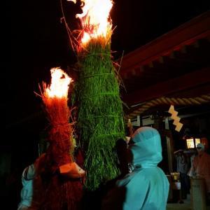 2019・タバンカ祭り「白裝束の炎舞」