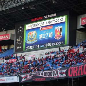 【完成度と決定力の差】Jリーグ27節『浦和レッズvs横浜FM』は6-2で浦和の完敗(浦和の決定力不足が、横浜FMを楽にしてしまいました…あと浦和サポが試合中に横断幕を仕舞った件について)