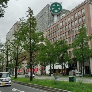 なんばウロウロ、大阪ミナミに人がいない