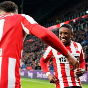 PSVの主力選手がピッチへ復帰