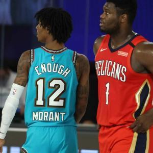 【NBA】NOP対MEM モラントさん沈黙