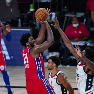 【NBA】ウィザーズ・八村塁、8得点 8リバウンド2アシスト ウィザーズは76ersに敗れ再開後4連敗