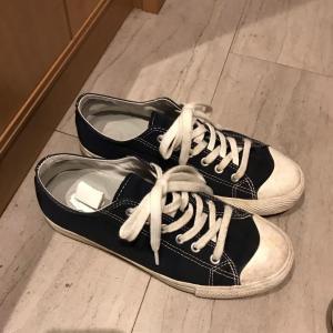 【手放し】靴の中に手紙と裁縫道具の整理