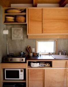 台所に思う。片付けたければ完成イメージが必要だな。