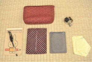 バッグの中身は何が入っていますか?~荷物が少ないって幸せ。