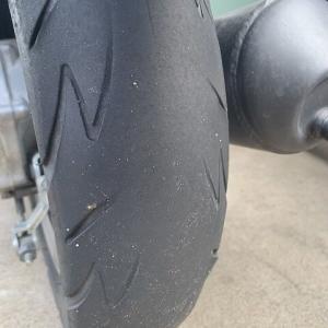 スペイシーのリアタイヤが…と北の大地へ出張です。