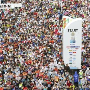 【海外の反応】東京マラソン返金問題