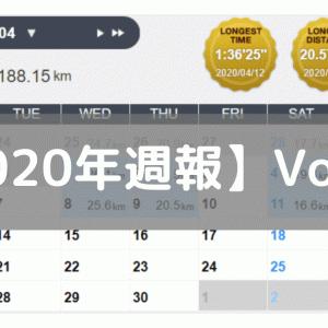 【週報】好調から絶不調へ(2020/04/06-04/12)