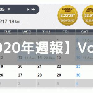 【週報】徐々にレペの成果が出てきた(2020/05/11-05/17)
