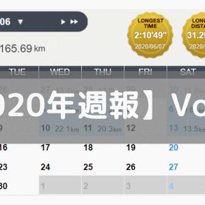【週報】貧血に苦しむ(2020/06/08-06/14)