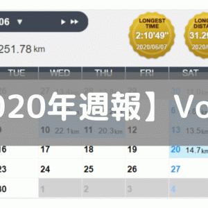 【週報】体調不良&レースエントリ&ランキング(2020/06/15-06/21)