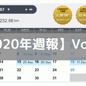 【週報】次戦に向けて基礎作りから(2020/07/13-07/19)