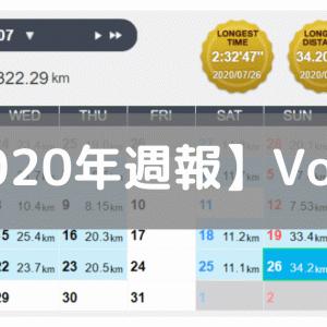 【週報】CVインターバルまたもリタイア(2020/07/20-07/26:109.8km)