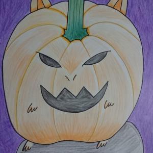 育児が一段落した主婦の素人お絵かき第6号「ハロウィン」