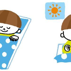 休校中に超早寝早起きになったのが謎過ぎる。