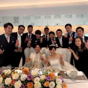 友人の結婚式に参加!