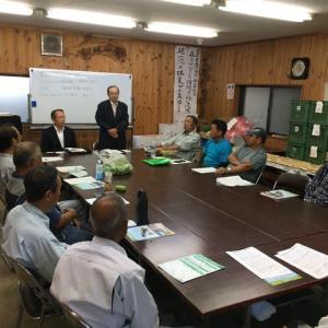 2019年10月5日(土)上野原市林業研究会で薪イベント開催
