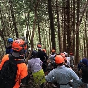 公益信託農林中金森林再生基金事業(森力基金)第1回森林作業道開設講習会開催