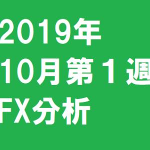 2019年10月第1週FX分析