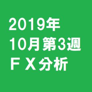 2019年10月第3週FX分析