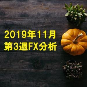 2019年11月第3週FX分析
