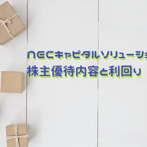 NECキャピタルソリューション(株)(8793)の株主優待内容と利回り