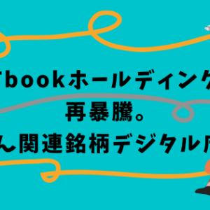 ITbookホールディングス再暴騰。菅さん関連銘柄デジタル庁絡み
