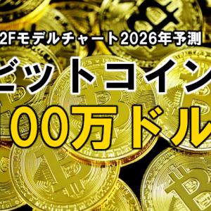 ビットコインは、100万ドルを目指しS2Fモデルチャートに沿って価格上昇中