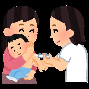 予防接種開始。最初はロタウィルス