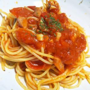 トマトとにんにくでできる絶品パスタと楽ワザ