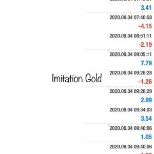 9/6 23:59までImitation Goldプレゼント再開