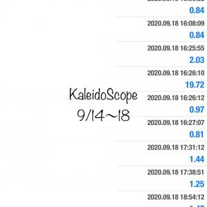 9/14〜18 KaleidoScope & Imitation Gold