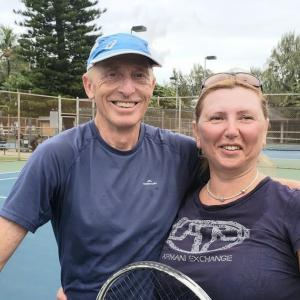 Murray Rout & Tonia Morgun are vising from Auckland New Zealand.